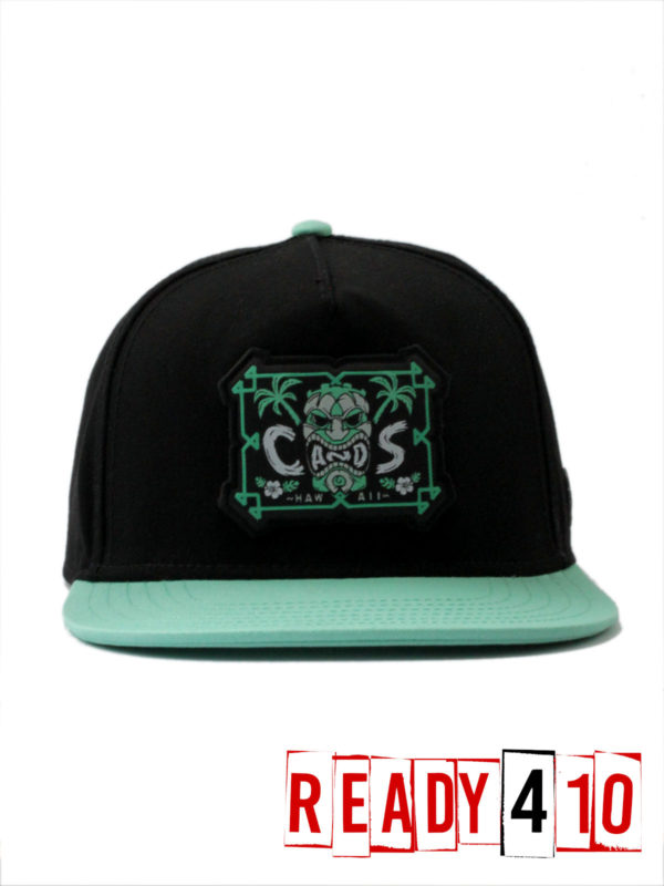 CAYLER & SONS CL Alelo Cap - black/mint - Front