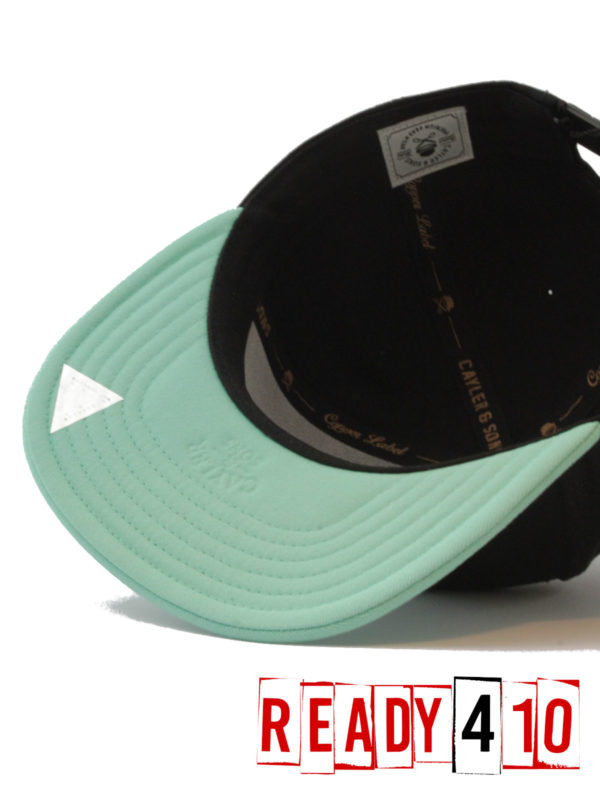 CAYLER & SONS CL Alelo Cap - black/mint - Inside