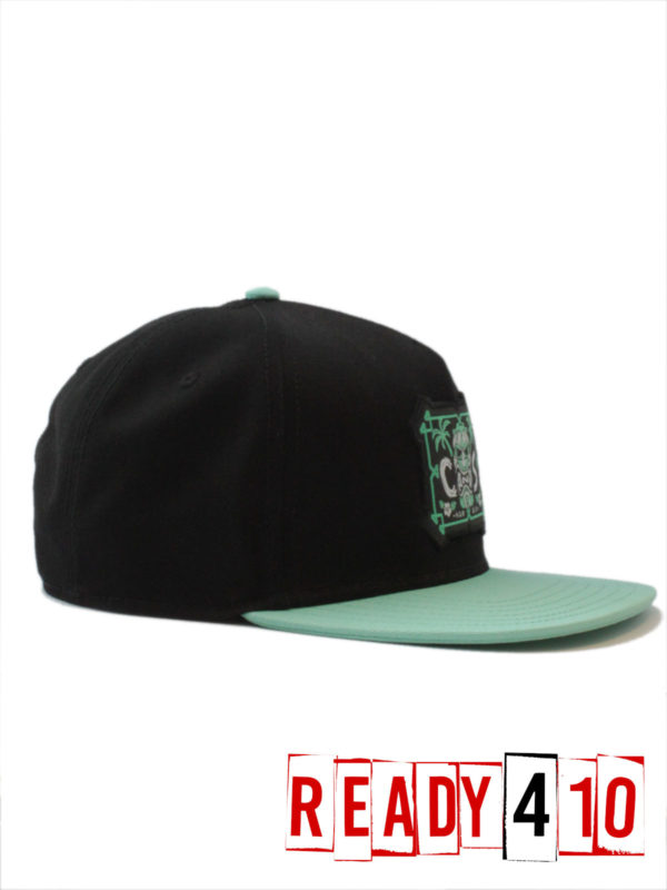 CAYLER & SONS CL Alelo Cap - black/mint - Side