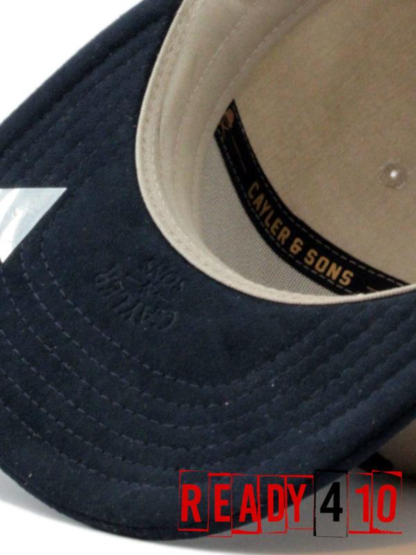 CAYLER & SONS CL Alelo Cap - sand/navy - Detail Visor