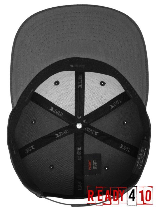 Flexfit 110 Fitted Snapback – Darkgrey - Inside