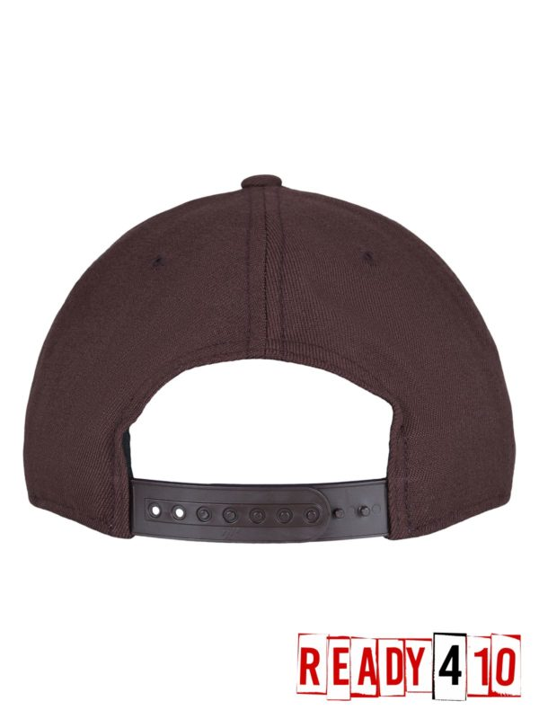 Flexfit 110 Fitted Snapback – Maroon - Back