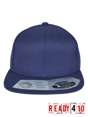 Flexfit 110 Fitted Snapback - Navy - Front