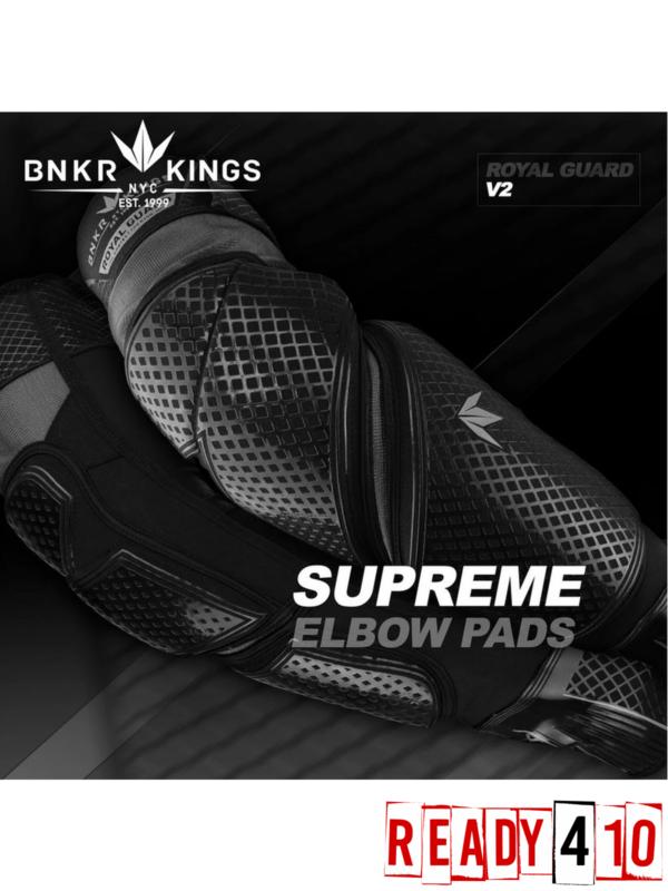 Bunker Kings Supreme Paintball Elbow Pads V2 - Lifestyle