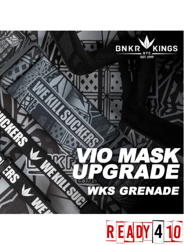 Bunkerkings VIO Mask Upgrade - WKS Grenade - Lifestyle