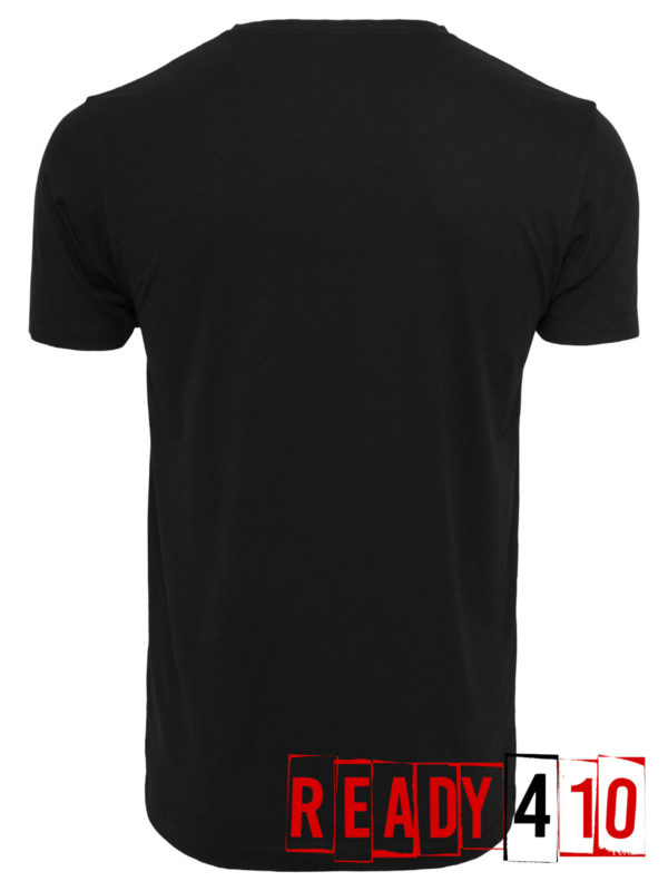 Merchcode Baby Yoda Mandalorian Logo Shirt - Back
