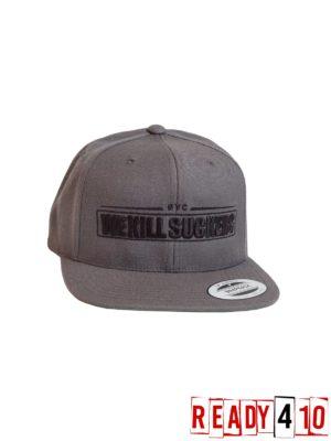 Bunkerkings Snapback Cap - WKS Grey