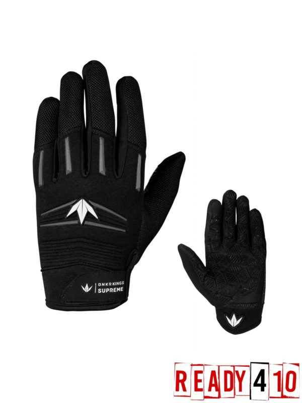 Bunkerkings Supreme Gloves - Stealth Gray