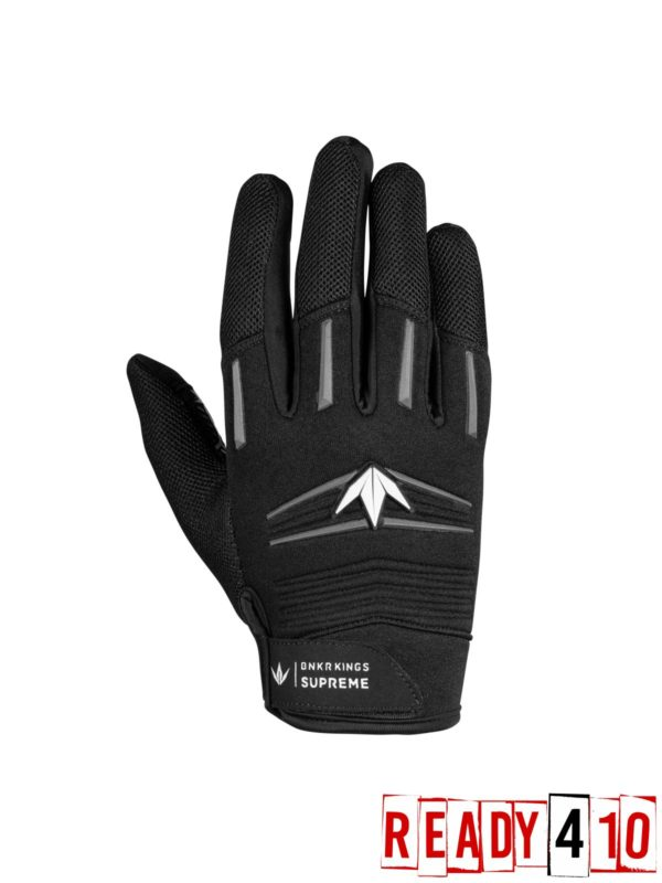 Bunkerkings Paintball Gloves - Stealth Gray