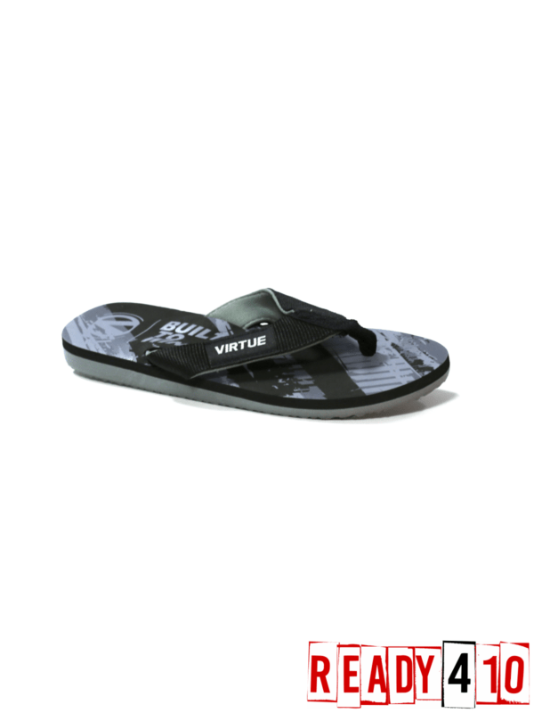 Virtue Onset Flip Flops - Graphic Black