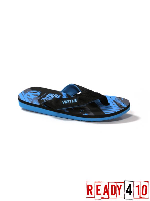 Virtue Onset Flip Flops - Graphic Cyan