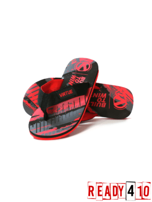 Virtue Onset Flip Flops - Graphic Red