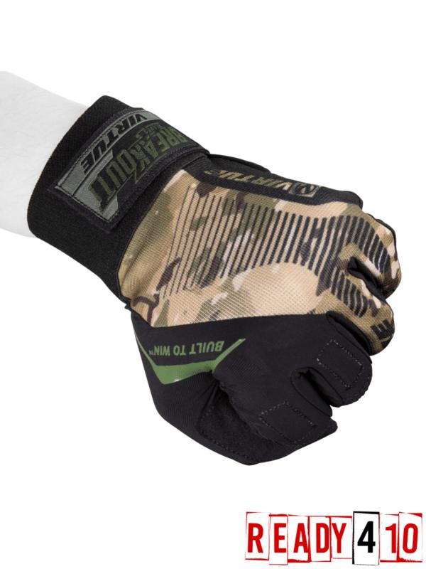 Virtue Breakout Gloves - Ripstop Full Finger - Camo Camo