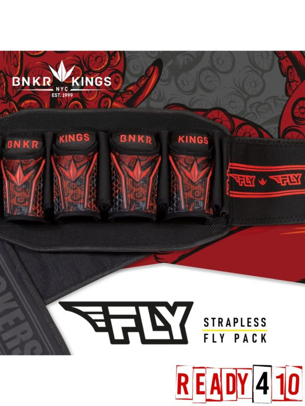 Bunkerking Fly Pack - 4+7 Red Tentacles - Lifestyle