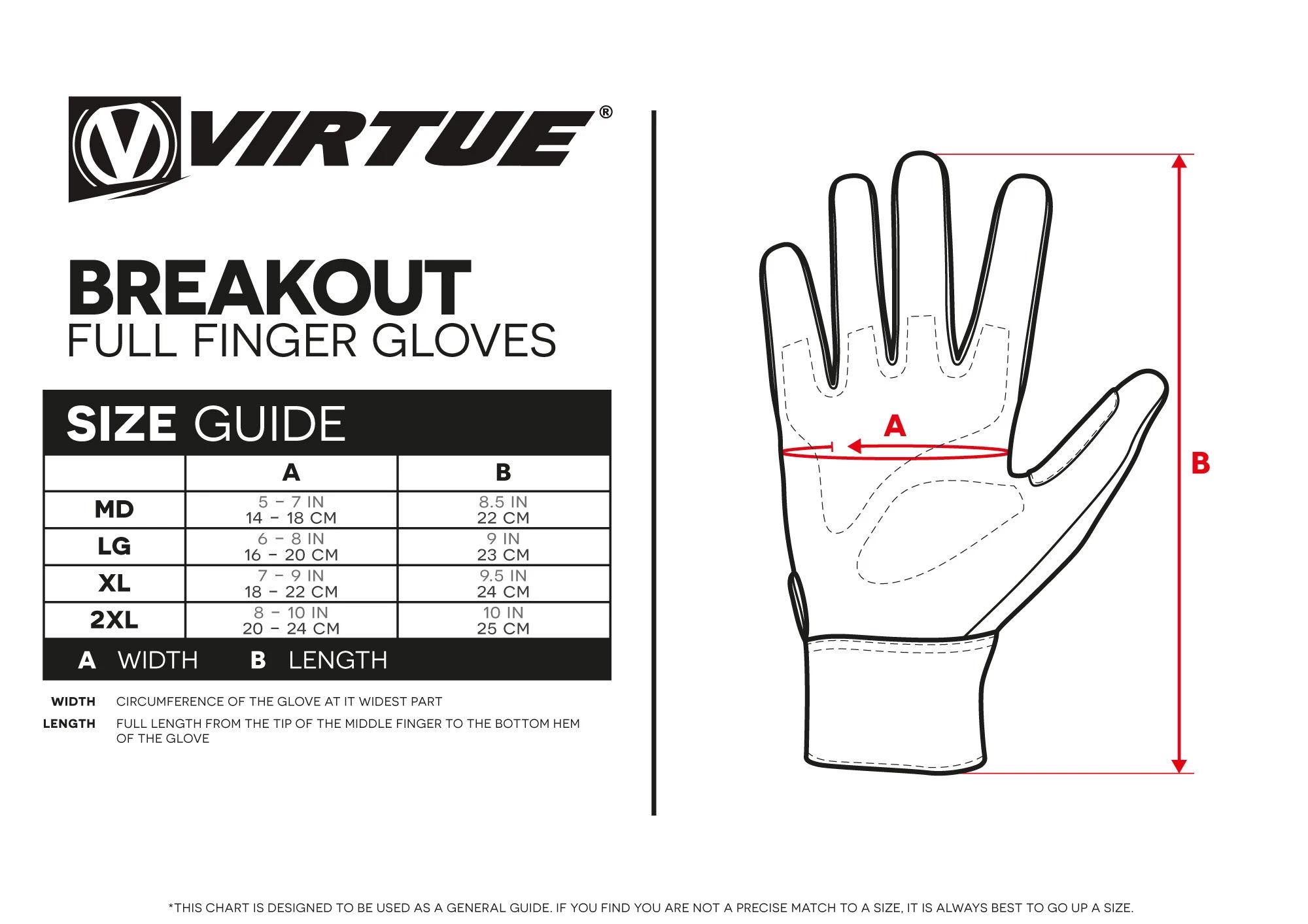 Virtue Breakot Full Finger Gloves