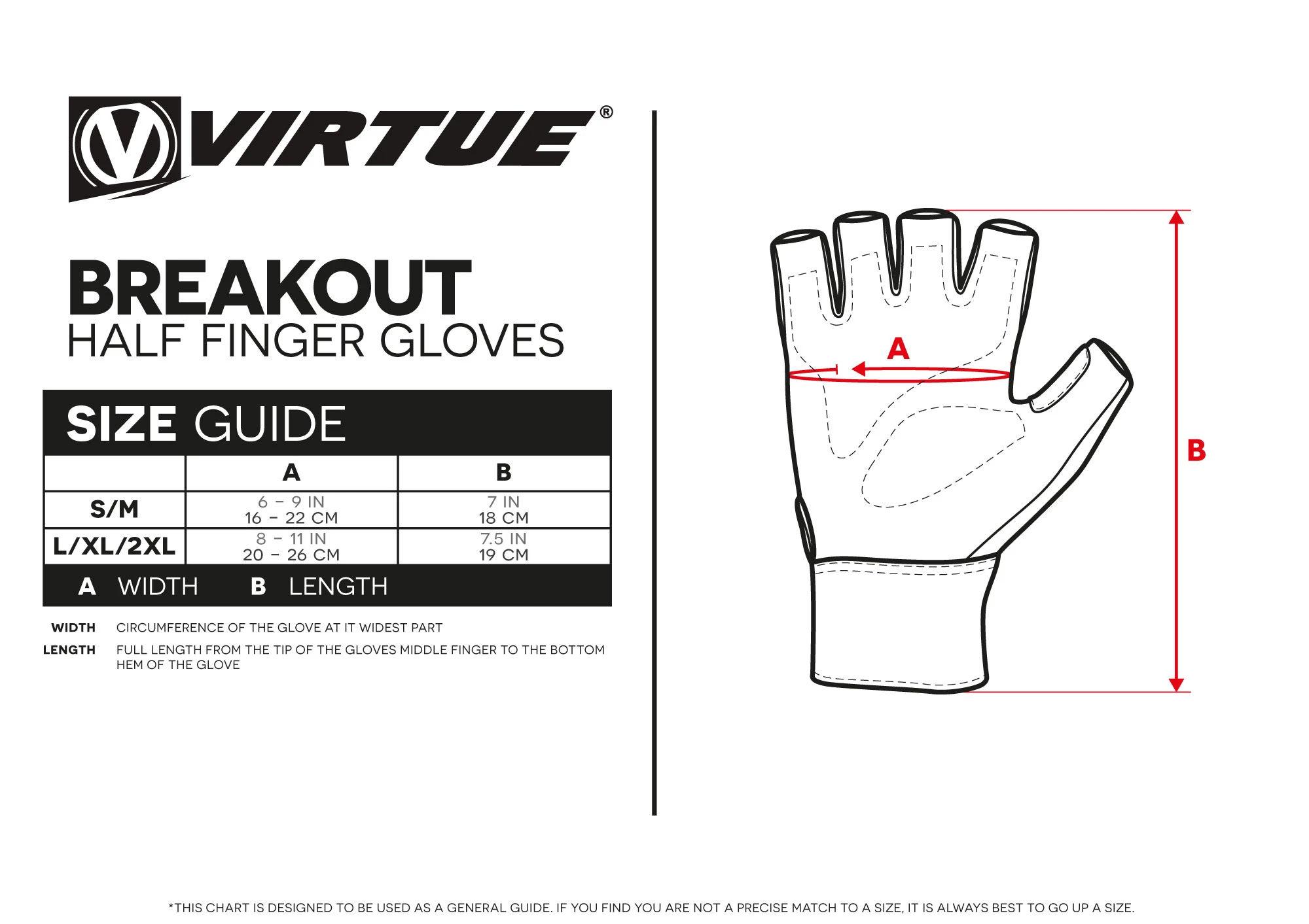 Virtue Breakot Half Finger Gloves