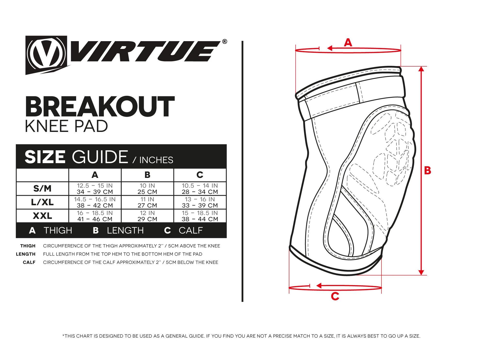 Virtue Breakout Knee Pads