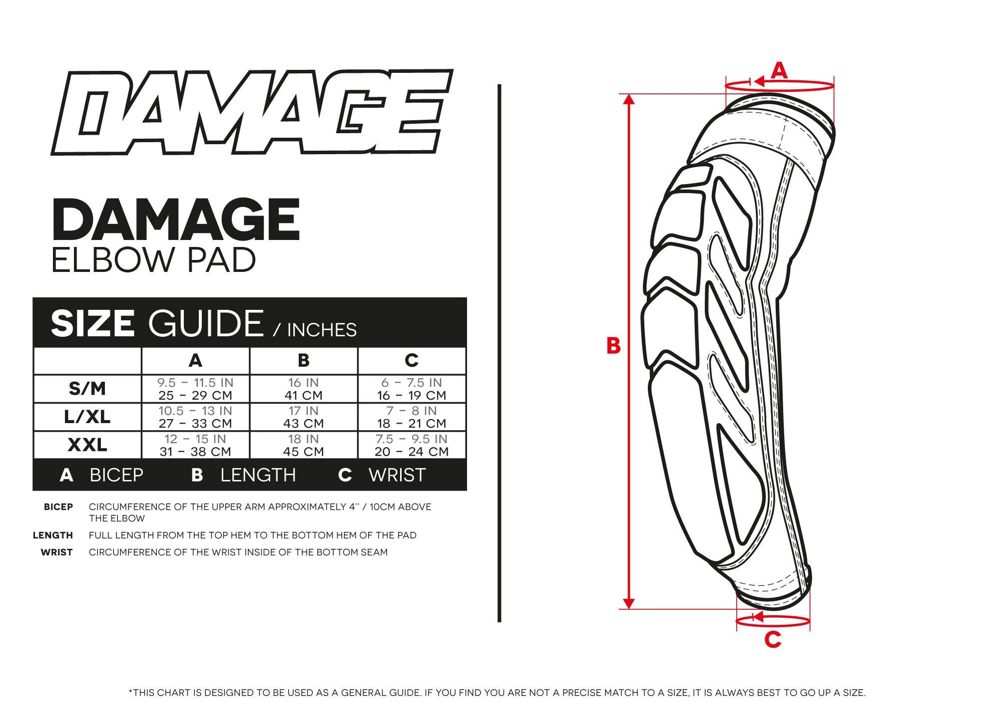 Damage Elbow Pad