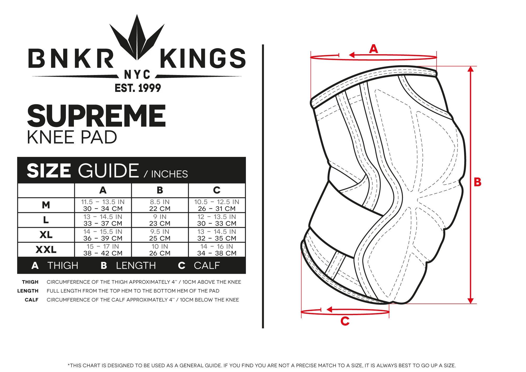 Bunkerkings Supreme Knee Pad