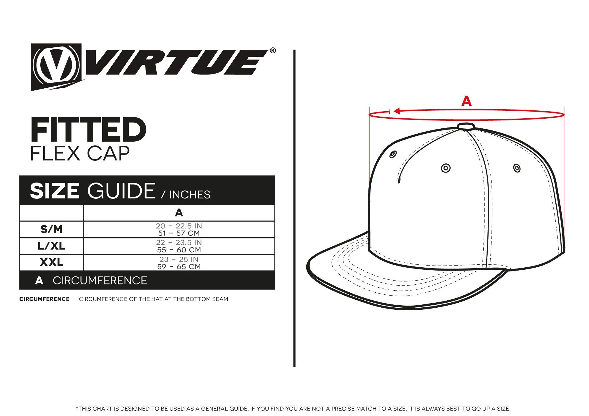 Virtue Fitted Flex Cap