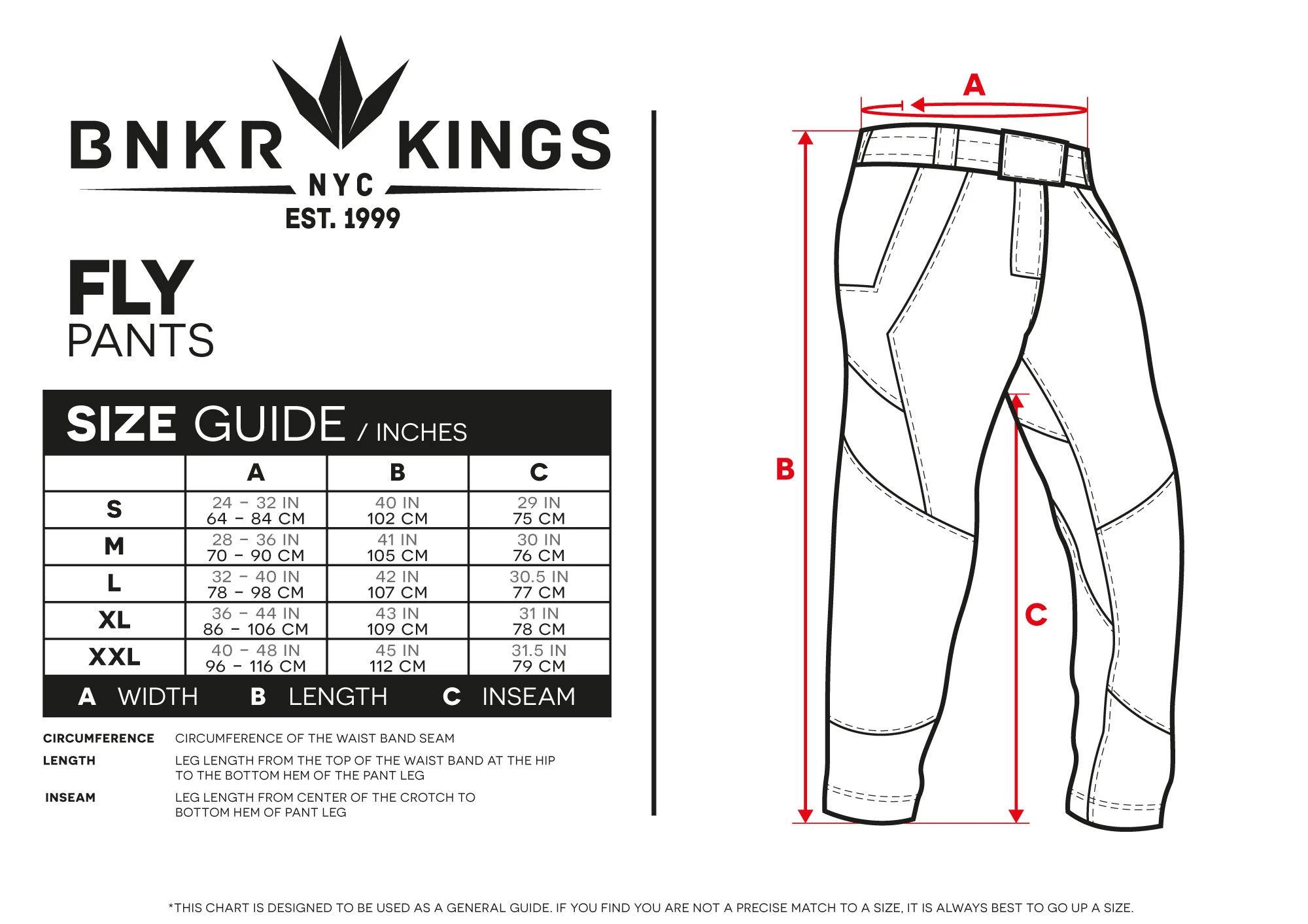 Bunkerkings Fly Pants