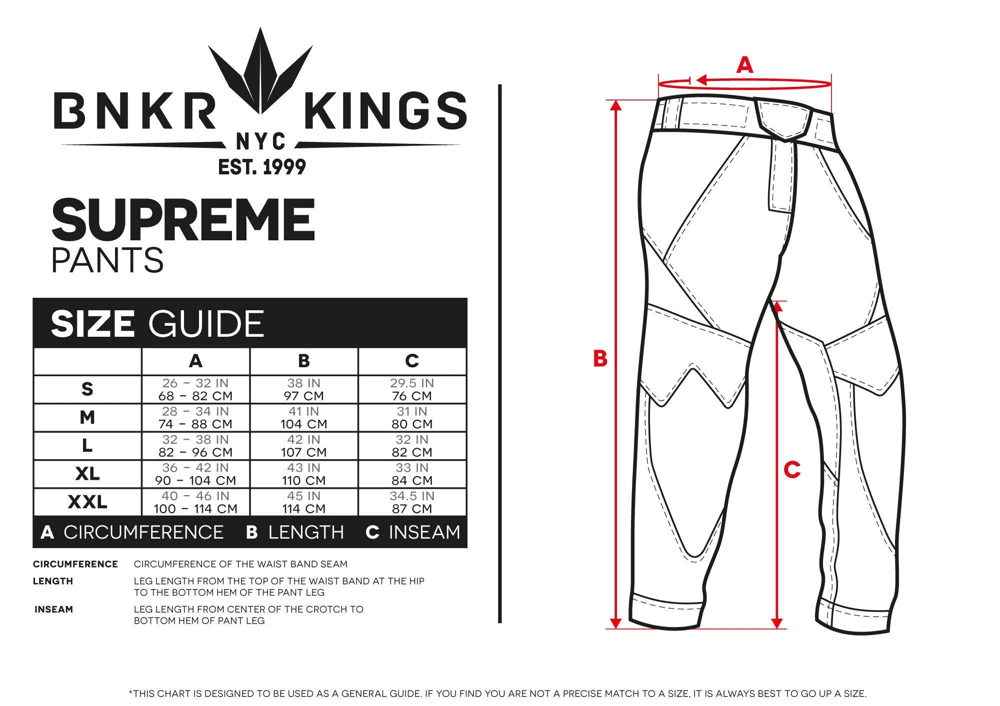 Bunkerkings Supreme Pants