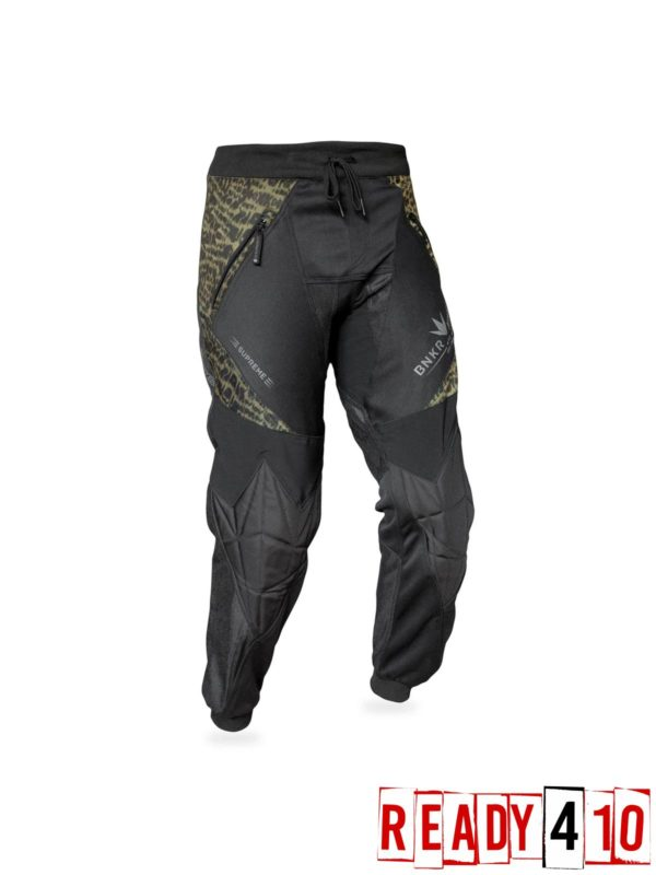 Bunkerkings Supreme Jogger Pants - Leopard - Front