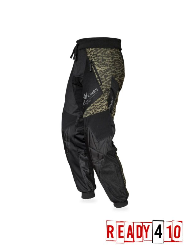 Bunkerkings Supreme Jogger Pants - Leopard - Left