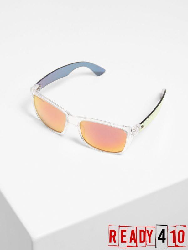 Urban Classics 110 Sunglasses – transparent/red