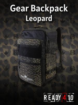 Bunkerkings Supreme Gear Backpack - Leopard