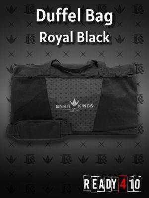 Bunkerkings Duffel Bag - Royal Black
