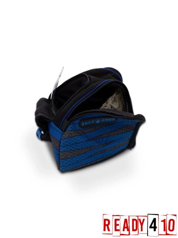 Bunkerkings Supreme Goggle Bag - Laces Blue Open
