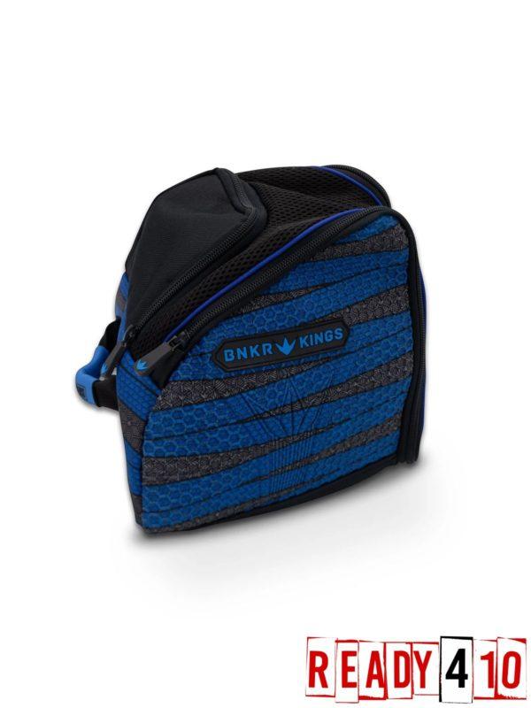 Bunkerkings Supreme Goggle Bag - Laces Blue Side Back