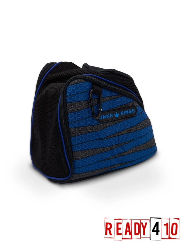 Bunkerkings Supreme Goggle Bag - Laces Blue Side Front