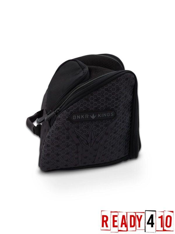Bunkerkings Supreme Goggle Bag - Royal Black Side Back
