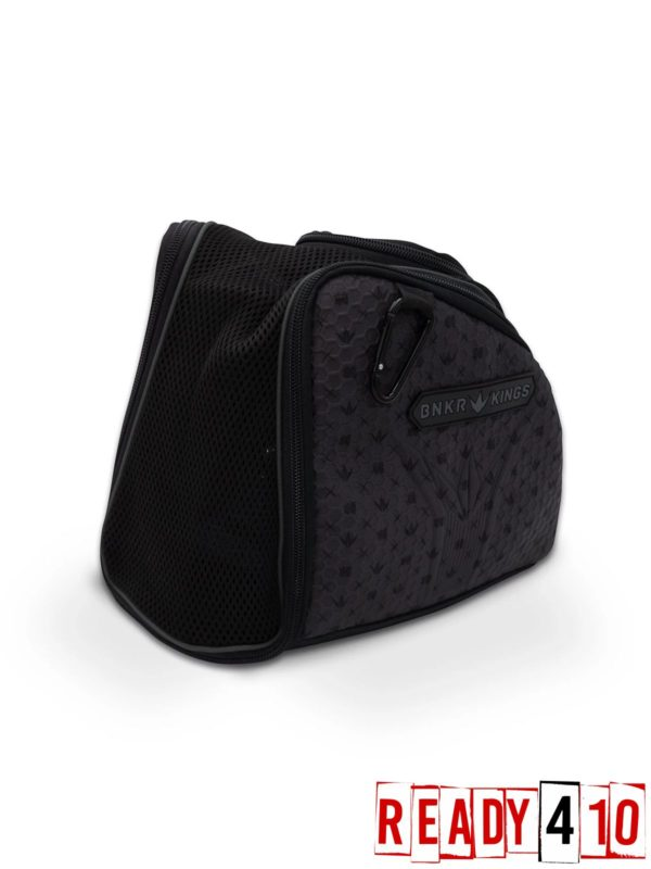Bunkerkings Supreme Goggle Bag - Royal Black Side Front