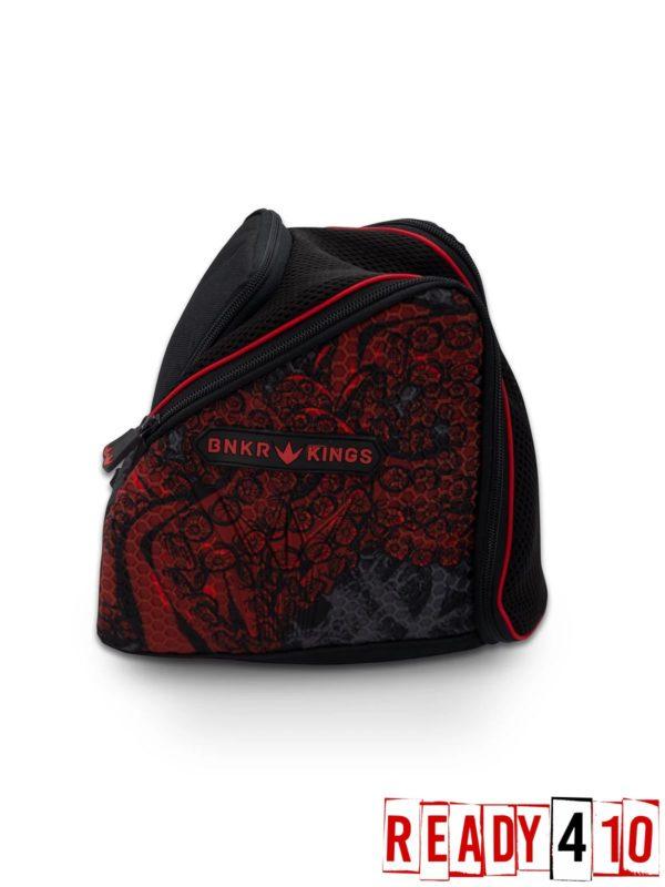 Bunkerkings Supreme Goggle Bag - Tentacles Red Side