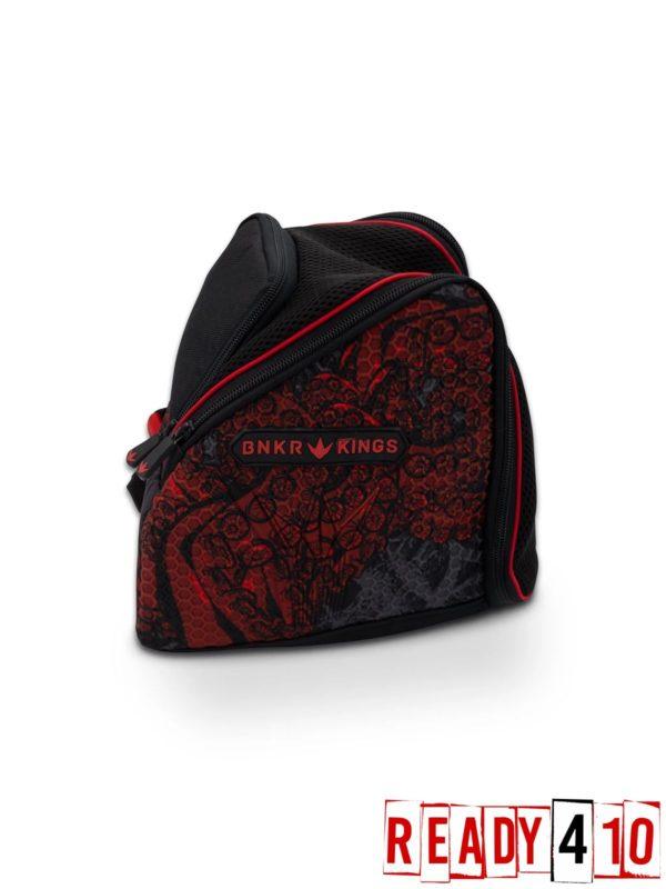 Bunkerkings Supreme Goggle Bag - Tentacles Red Side Back