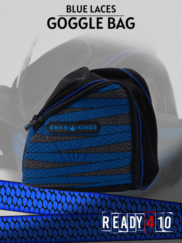 Bunkerkings Supreme Goggle Bag - Laces Blue