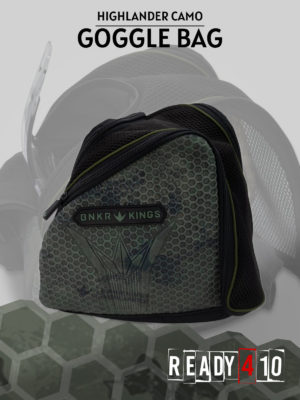 Bunkerkings Supreme Goggle Bag - Highlander