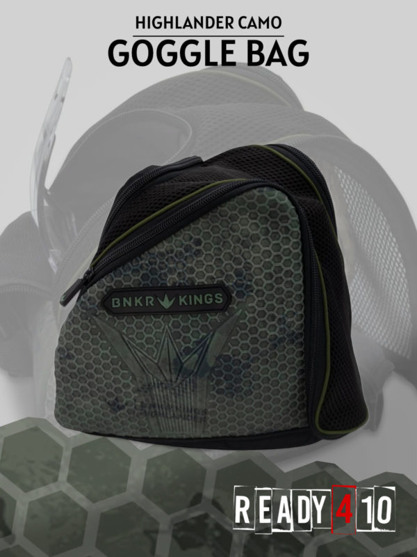 Bunkerkings Supreme Goggle Bag - Highlander