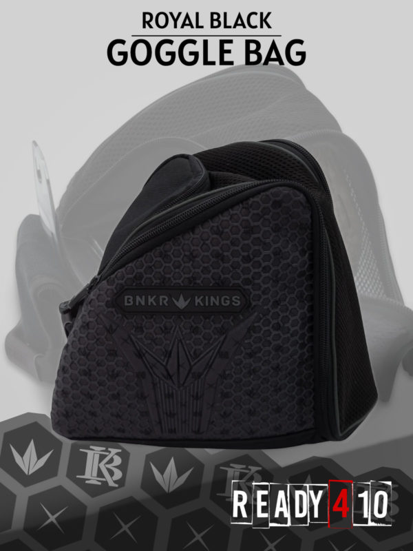 Bunkerkings Supreme Goggle Bag - Royal Black