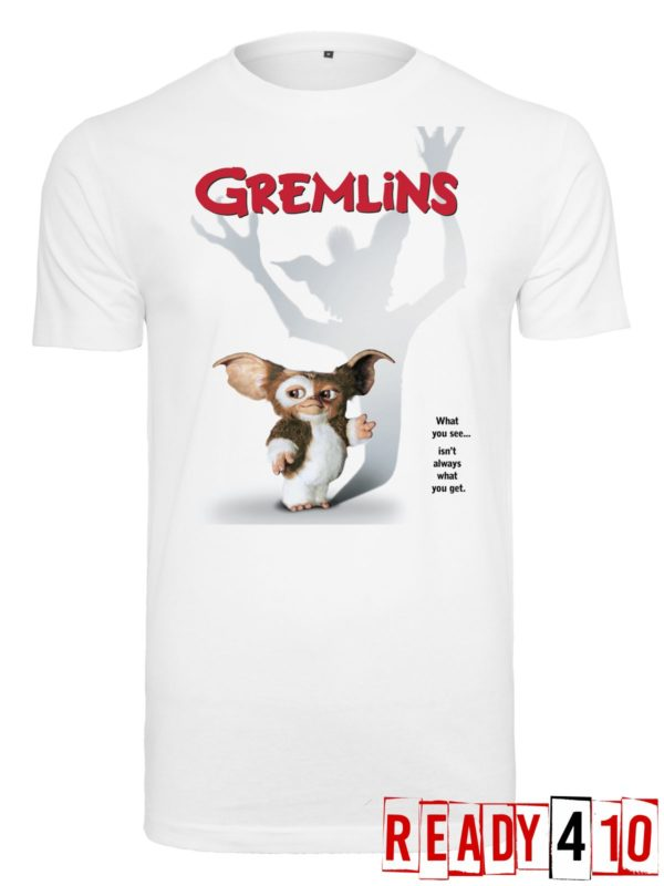 Merchcode Gremlins Poster Shirt Front