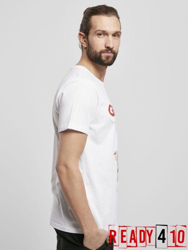 Merchcode Gremlins Poster Shirt - Model