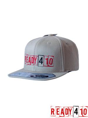 Ready410 Cap Khaki - Front Side 2