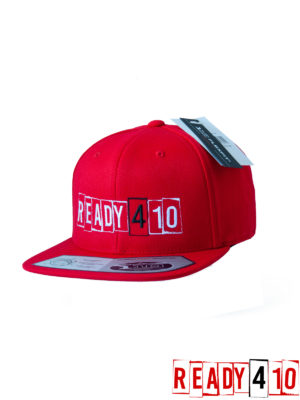 Ready410 Cap Red - Front Side 2