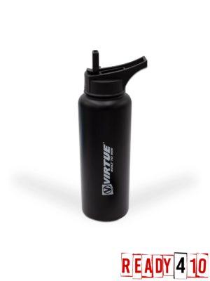 Virtue Stainless Steel 24Hr Cool Water Bottle - 1100ml - Black