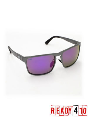 Virtue V-Inertia Polarized Sunglasses - Gunmetal Amethyst