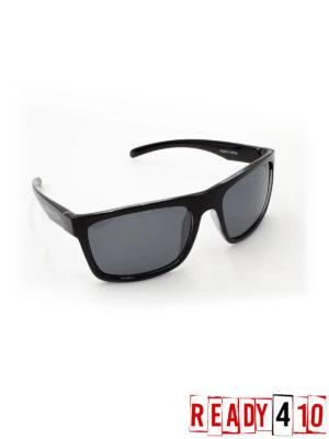 Virtue V-Paragon Polarized Sunglasses - Polished Smoke Black