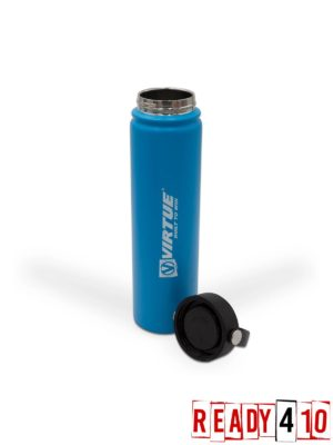 Virtue Stainless Steel 24Hr Cool Water Bottle - 700ml - Blue